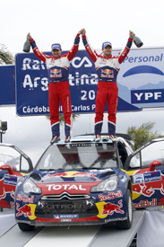 Sebastian Loeb and Daniel Elena win in Argentina
