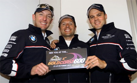 Joey Hand, Andy Priaulx and Dirk Muller