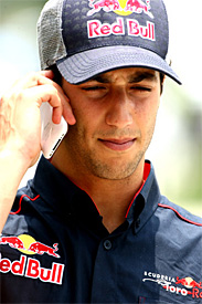 Ricciardo is eager for an opportunity to race
