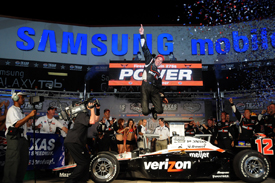 Will Power wins at Texas