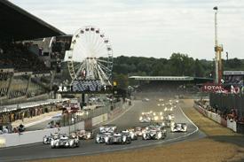 Le Mans start 2011