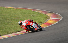 Hayden tests GP12 at Mugello