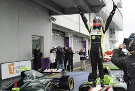 Kevin Korjus wins at the Nurburgring