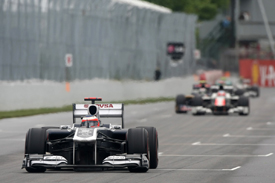 Rubens Barrichello, Williams, Montreal 2011