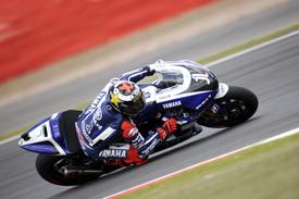 Jorge Lorenzo, Yamaha, Silverstone 2011