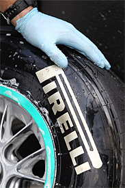 Valencia race debut for medium tyres