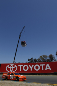 Joey Logano, Joe Gibbs Toyota, Sears Point 2011