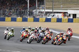 French Grand Prix start 2011