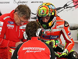 Rossi crew chief to miss Mugello