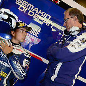 Jorge Lorenzo is always pushing for more, says Forcada