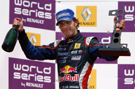 Jean-Eric Vergne wins at the Hungaroring, 2011