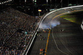 David Ragan wins at Daytona amid carnage behind