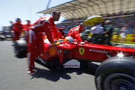 Fernando Alonso, Ferrari, Valencia 2011
