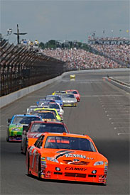 Nationwide to race at Indy in 2012