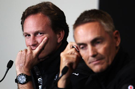 Christian Horner and Martin Whitmarsh