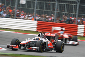 Lewis Hamilton, McLaren, Silverstone 2011
