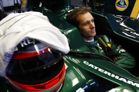 Jarno trulli Lotus 2011 British GRand Prix