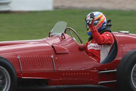 Fernando Alonso Ferrari 375 Silverstone