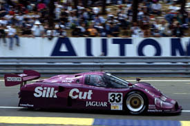 John Nielsen Jaguar Le Mans 24 Hours 1991