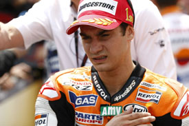 Dani Pedrosa Honda 2011 German Grand Prix