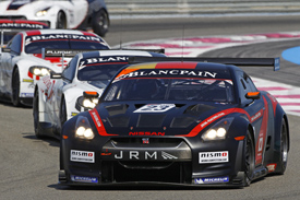 Michael Krumm Lucas Luhr Nissan JRM 2011 Paul Ricard GT1 World Championship