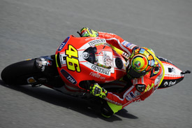 Valentino Rossi Ducati German Grand Prix 2011