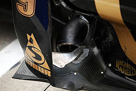 Renault exhaust, 2011
