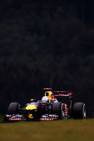 Sebastian Vettel, German Grand Prix, 2011