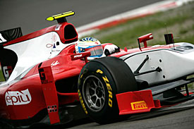 Luca Filippi, GP2 Series, Nurburgring, 2011