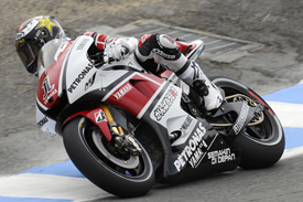 Jorge Lorenzo, Yamaha, Laguna Seca 2011