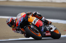 Casey Stoner US Grand Prix Honda 2011