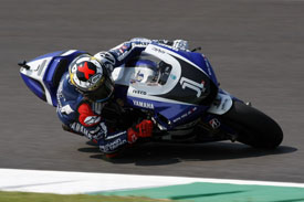 Jorge Lorenzo British Grand Prix Yamaha 2011