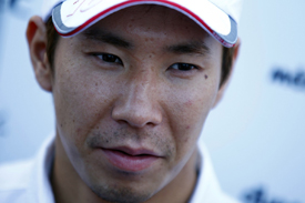 Kobayashi's jaunt with his girlfriend didn't work out as he had planned