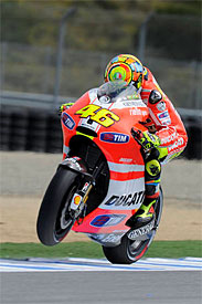 Valentino Rossi, Ducati