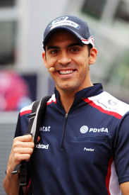 Pastor Maldonado Williams 2011 Hungarian Grand Prix