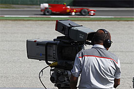 F1 TV camera
