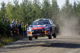 Sebastien Ogier, Citroen, Finland 2011