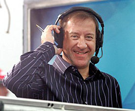 Sky Sports presenter Keith Huewen