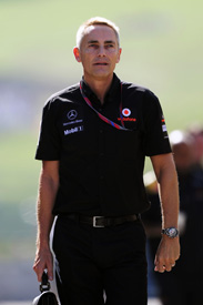 MArtin Whitmarsh 2011 Hungarian Grand Prix