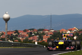 Mark Webber Red bull 2011 Hungarian Grand Prix
