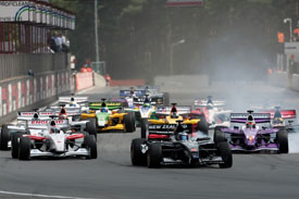 Zolder Superleague start 2011