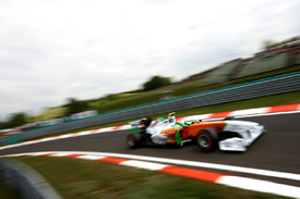 Paul di Resta, Force India, Hungary 2011
