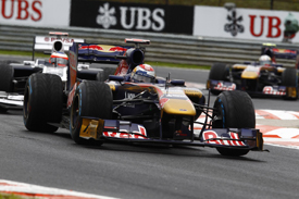 Sebastien Buemi, Toro Rosso, Hungary 2011