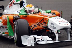 Adrian Sutil Force India 2011 German Grand Prix