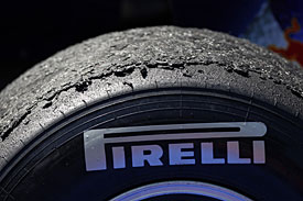 Pirelli's hard tyre, 2011