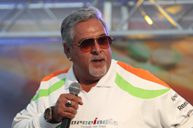 Vijay Mallya 2011 Force India