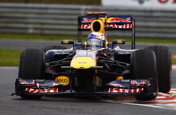 Sebastian Vettel 2011 Hungarian GRand Prix Red Bull