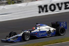 James Hinchcliffe Newman/haas IndyCar New Hampshire 2011