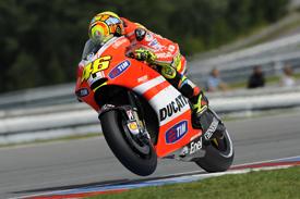 Valentino Rossi Ducati 2011 Czech Grand Prix