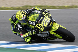 Andrea Iannone Moto2 Speedmaster Suter Spanish Grand prix